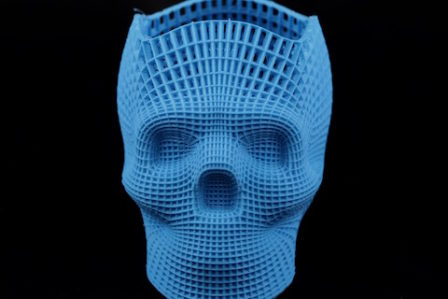 Wydruk 3D - PLA Blue